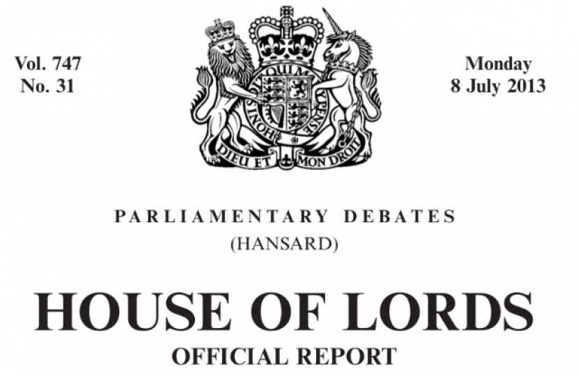 Marriage (same sex couples) Bill, equal marriage, LGBTory, Lords Hansard